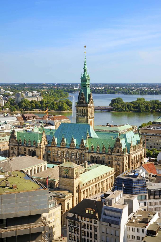 Hamburg, Germany, Town Hall_shutterstock_150175787