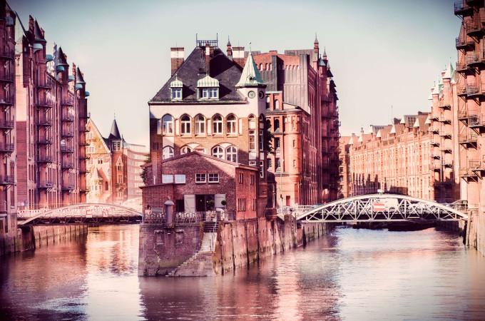 Hamburg in the storehouse city Germany shutterstock_244111417-2