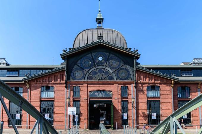 Old fish auction market in Hamburg, Germany _shutterstock_462528343