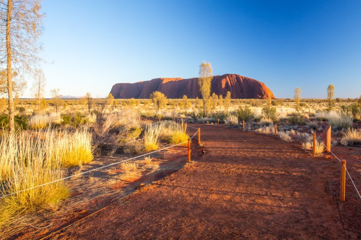 Outback Australien Ayers Rock