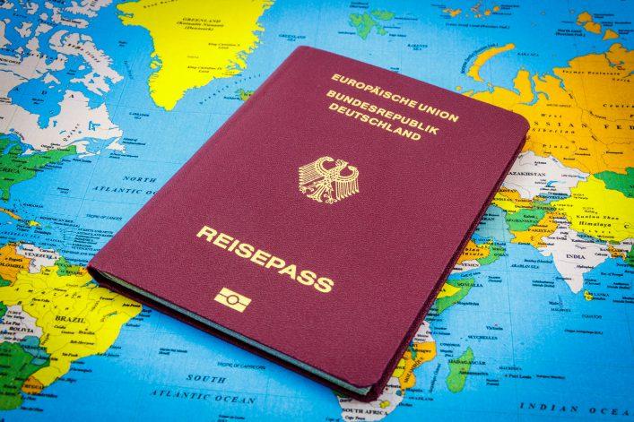 Reisepass-Ranking, Visum, Deutscher Reisepass
