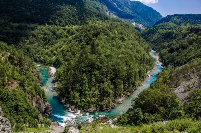 Tara Schlucht in Montenegro