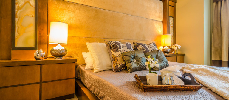 Beautiful and modern home and hotel bedroom interior design shutterstock_160098584-2