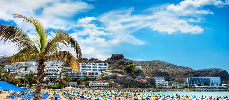 Canary resort, Puerto Rico's beach