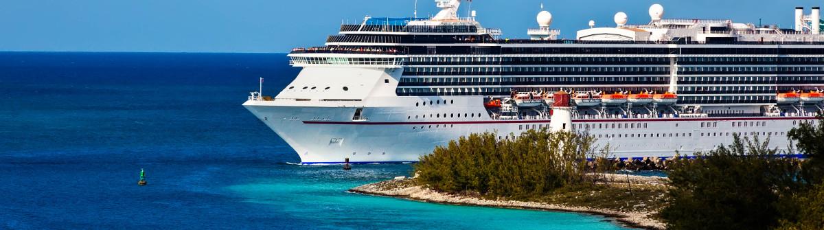 Cruise ship entering port of Nassau, Bahamas shutterstock_127440164-2