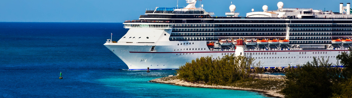 Cruise ship entering port of Nassau, Bahamas shutterstock_127440164-2