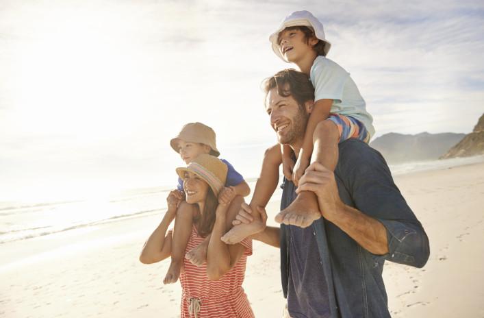 Familienurlaub Strand