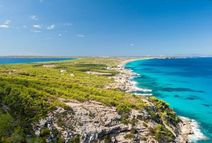 Die paradiesische Insel Formentera bei Ibiza