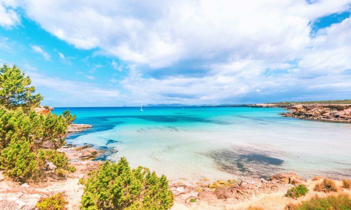 Cala Saona auf Formentera