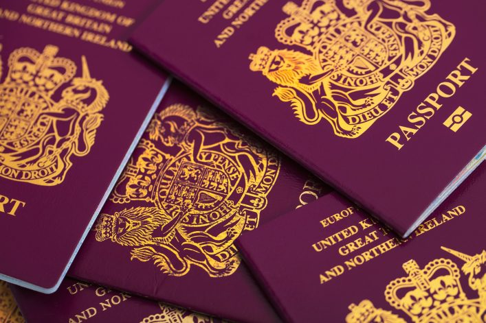 Farbe des Reisepasses, Grün, Rot, Blau, Reisepass