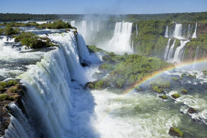 Iguazu Falls Wasserfälle Brasilien Argentinien