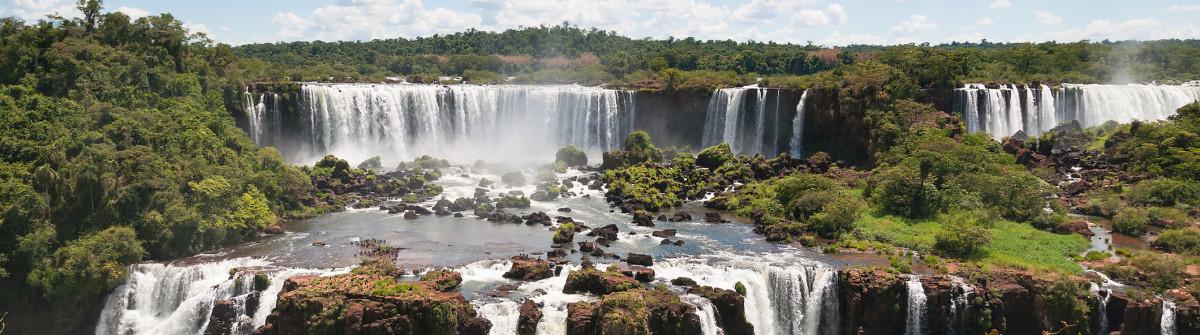 Igazu Falls Wasserfälle Brasilien Argentinien