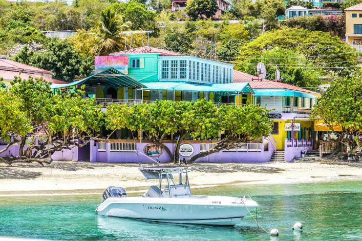 Tropical port of call – Virgin Islands