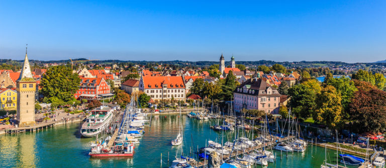 Lindau, the Harbor – Germany