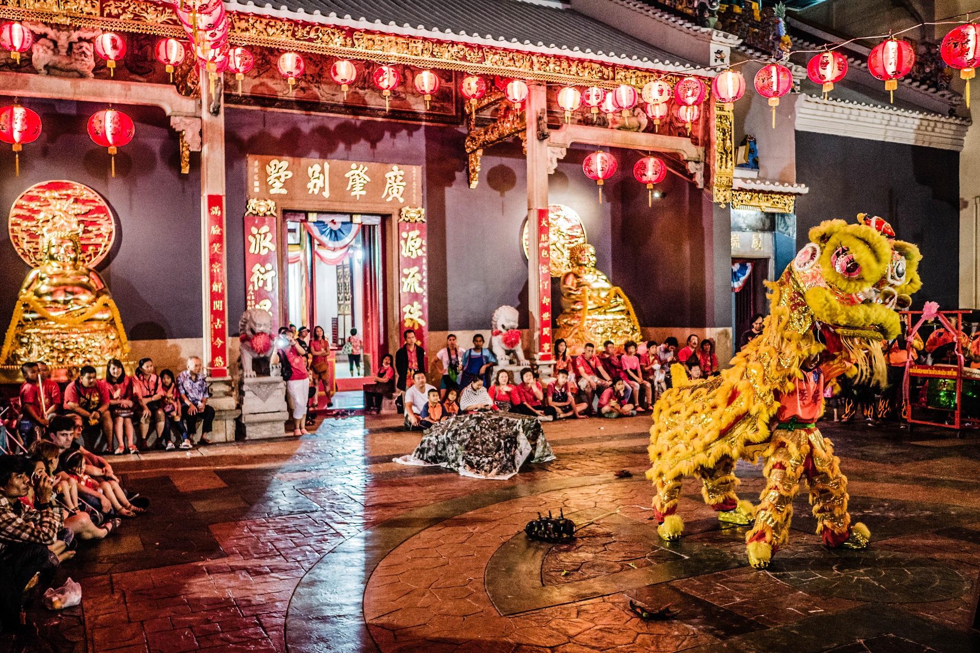 Chinesischen Neujahr