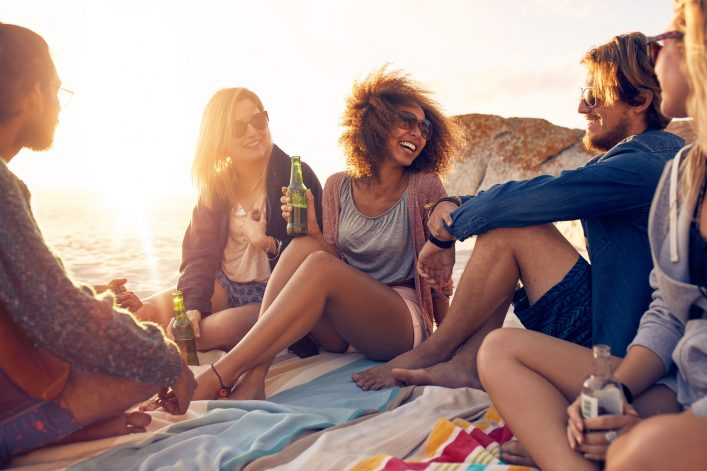 Wie wäre es mit einem Absacker am Strand statt in einer Bar?
