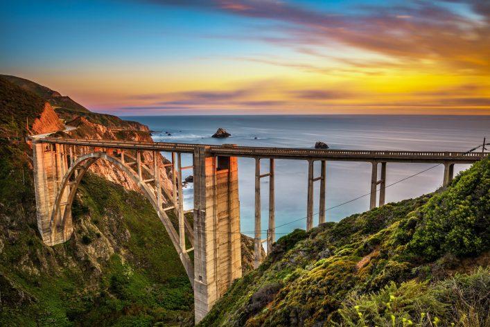 spektakuläre Brücken USA Bixby