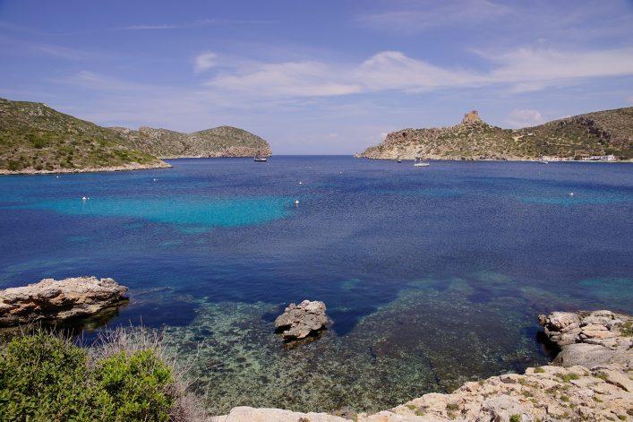 Die kleine Insel Cabrera in der Nähe von Mallorca ist ein wahres Naturparadies