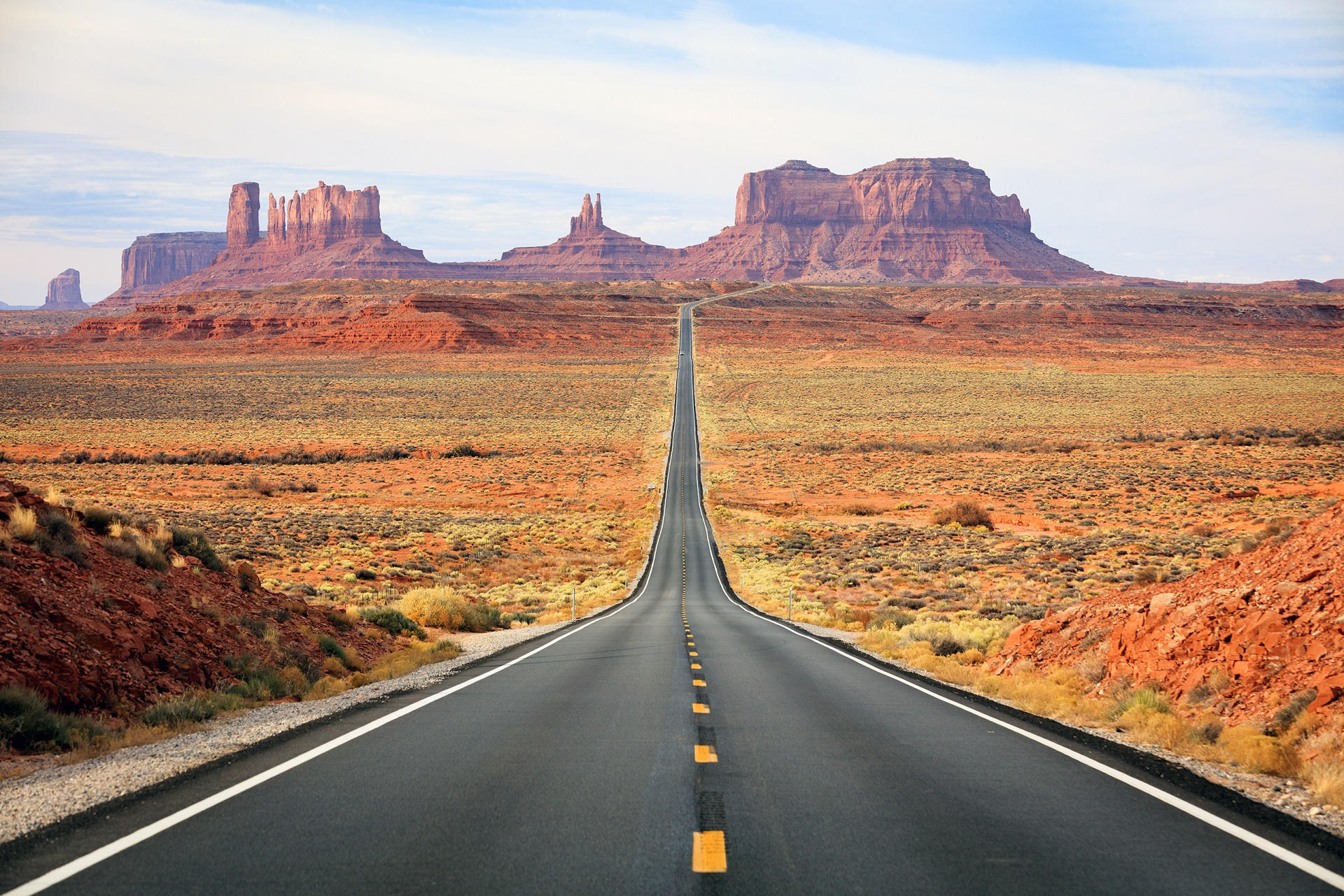 Wilder Westen Eindrucksvolles Monument Valley Urlaubsguru