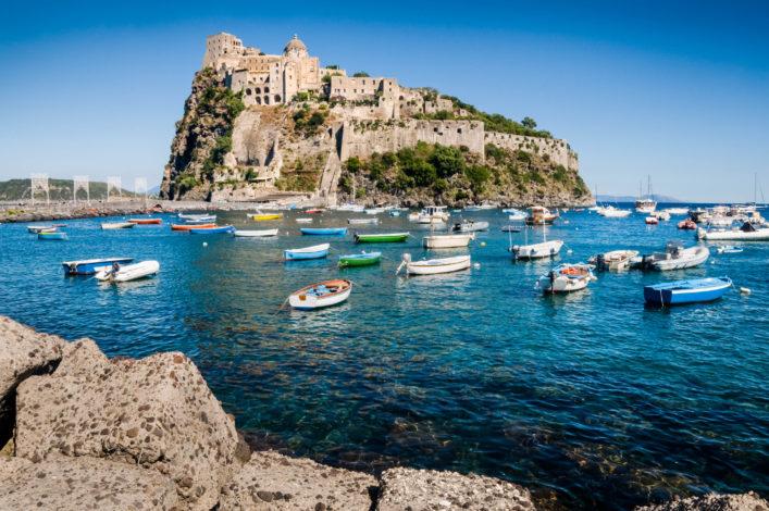 Ischia Golf von Neapel