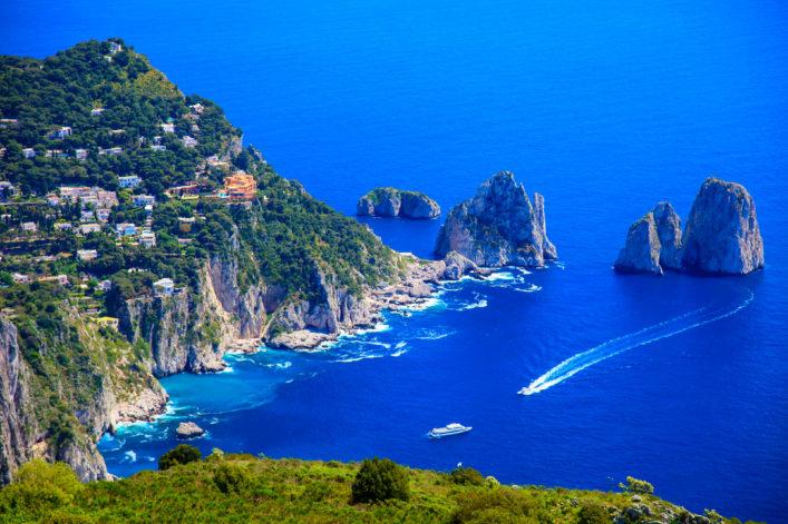 Ischia Capri Golf von Neapel