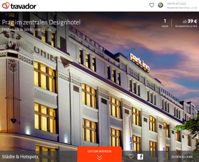 Designhotel in prag 2 tage im 4 hotel mit f und mehr for Prag designhotel