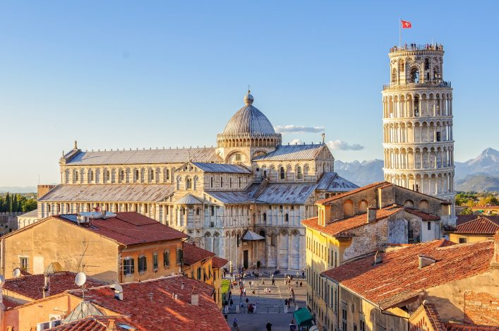Der schiefe Turm von Pisa ist bei Weiten nicht Pisas einzige Sehenswürdigkeit