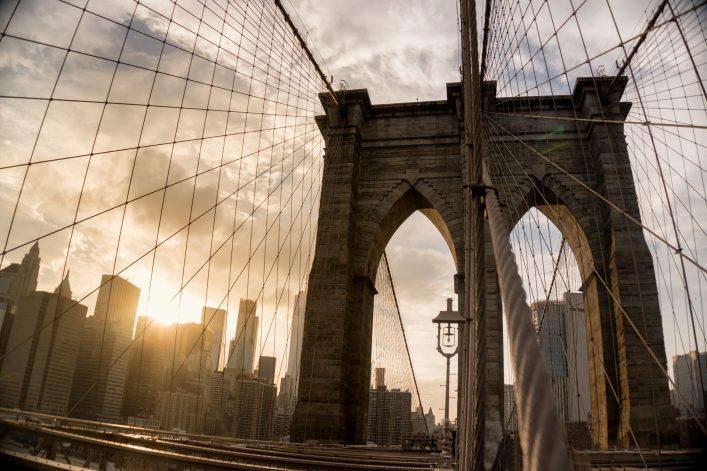 Ein Spaziergang über die Brooklyn Bridge