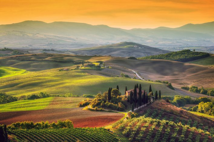Chianti in der Toskana ist ein besuchenswerter Ort - nicht nur für Weinliebhaber