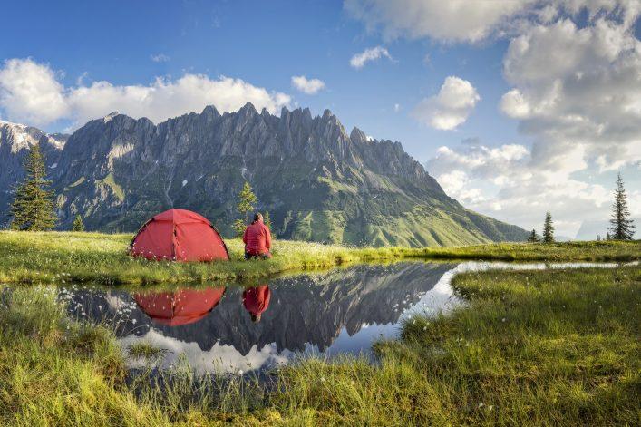 Ein wirklich außergewöhnlicher Zeltplatz