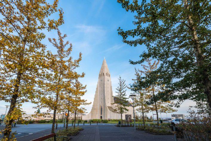 Kirche, Hallgrimskirkja, Reykjavik