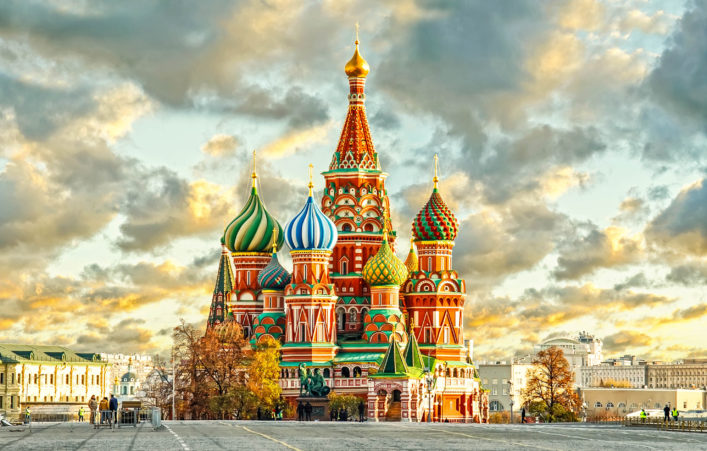 Kirche, Basilius Kathedrale Moskau