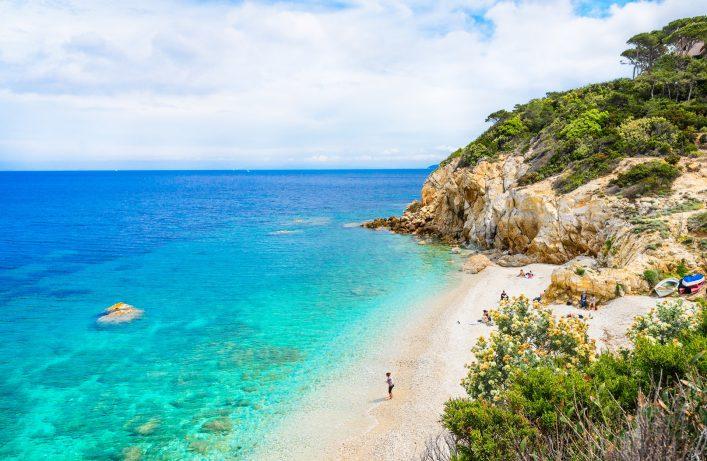 Die italienische Insel Elba ist ein Strandparadies