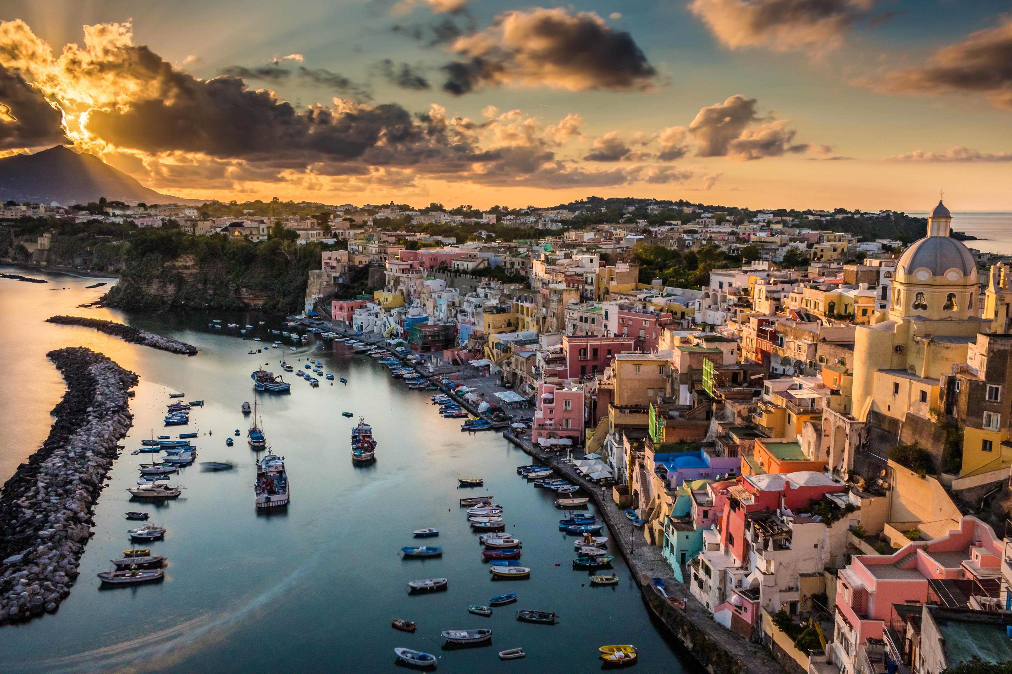 Ischia Procida Golf von Neapel