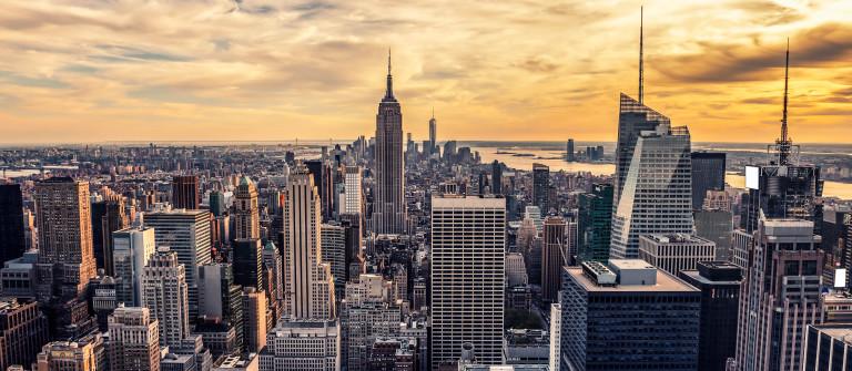 Sunset on Manhattan