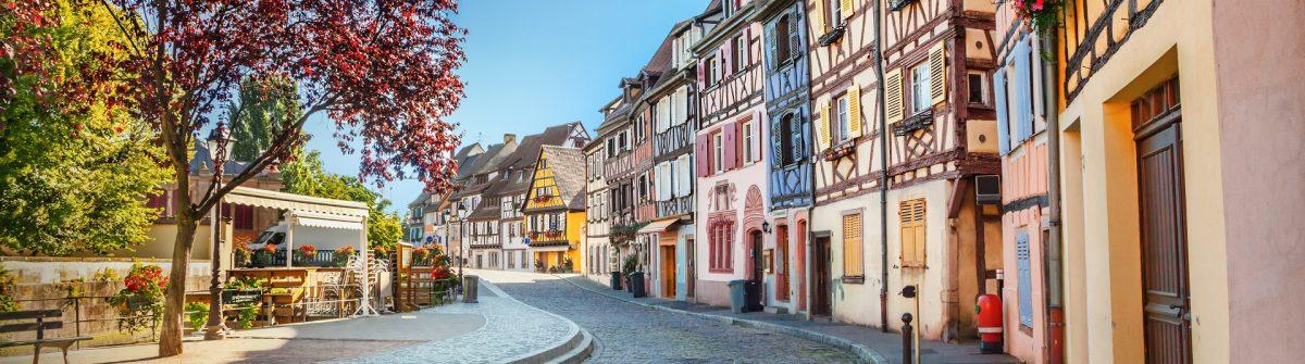 Unbedingt einen Besuch wert: Colmar im Elsass.
