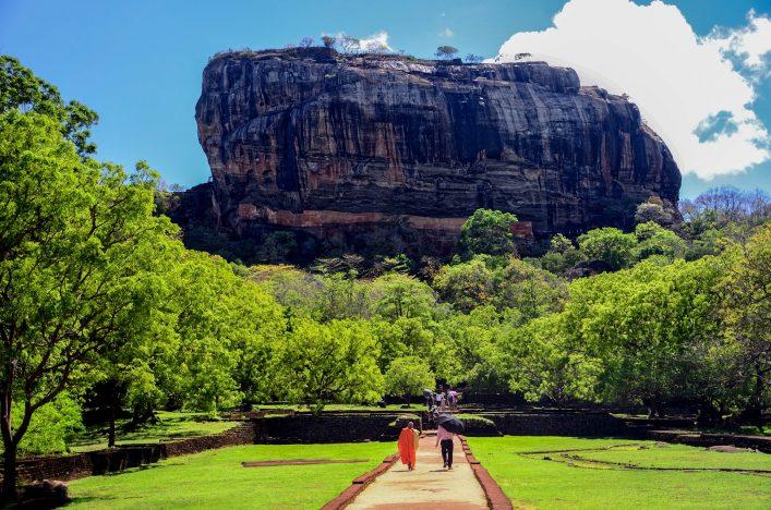 """Lion's rock, Sigiriya"""