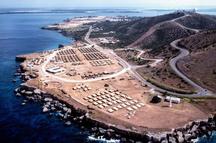 Reisepass Stempel Guantanamo Bay