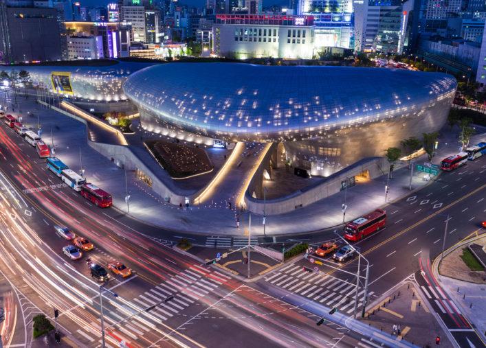 Seoul Tipps Dongdaemun Design Plaza Korea Architektur Zaha Hadid