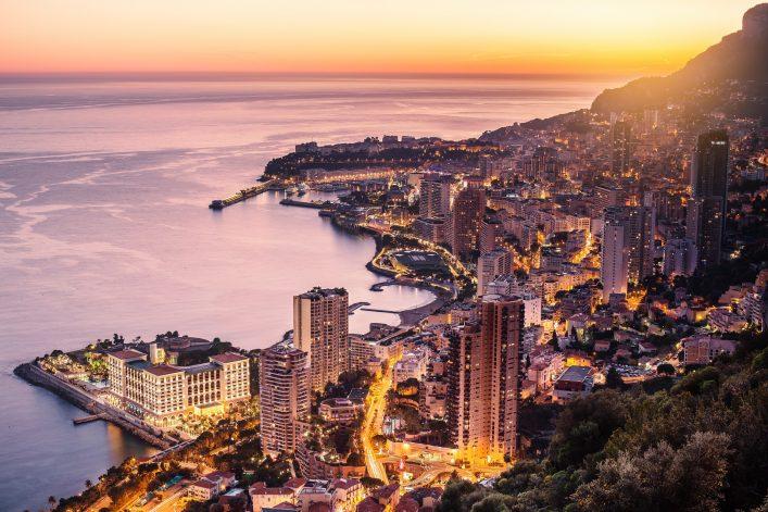 Der Zwergstaat Monaco