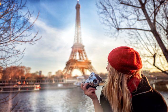Verliebt in den Eiffelturm