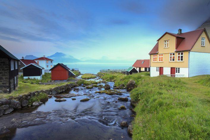 Gjógv zählt zu den schönsten Regionen auf den Färöer Inseln