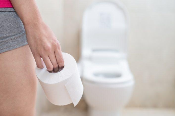 Toiletten in Asien haben meist kein Klopapier