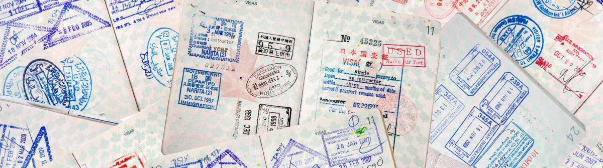 Passport Travel Stamps