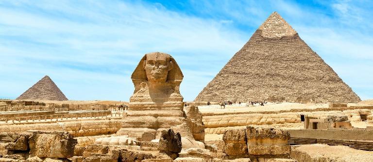 Ägypten Reise Kairo Pyramiden von Gizeh nilkreuzfahrt