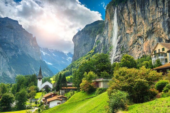 Lauterbrunnen im Berner Obertal