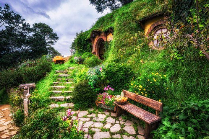 Hobbiton in Neuseeland