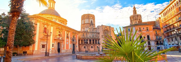 Valencia in Spain summer shutterstock_558187123
