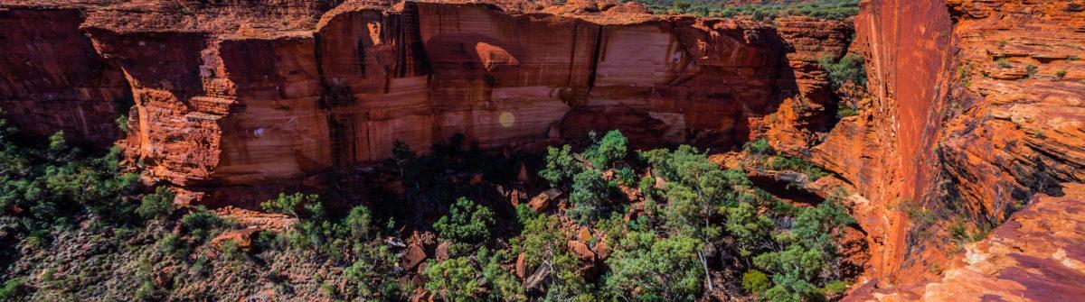 Australia outback landscape