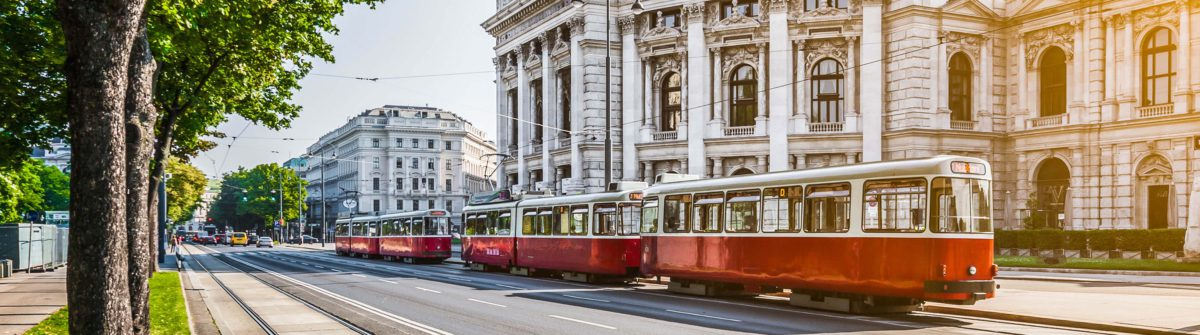Famous Wiener Ringstrasse with historic Burgtheater shutterstock_273264044-2
